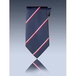 Cravate club classique à élastique