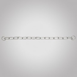 Collier metal gros maillons