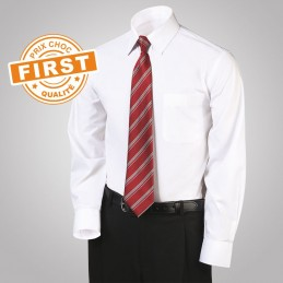 Chemise FIRST blanche   à 16,25€