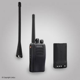 Pack KENWOOD TK3360E UHF avec batterie KNB55LM et KRA27M (sans chargeur)
