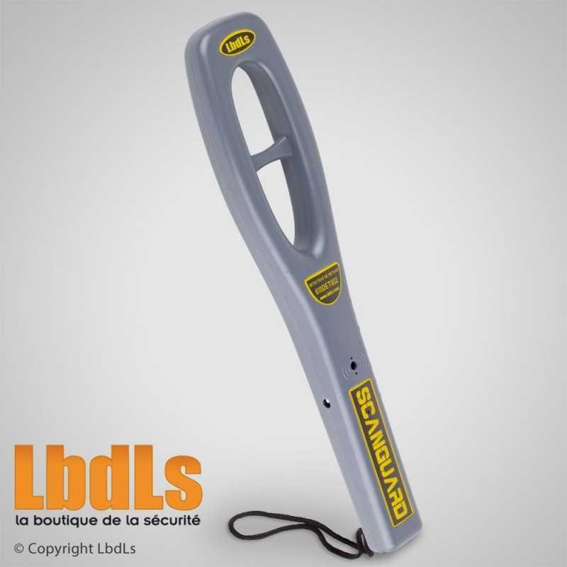 Détecteur de métaux portatif SCANGUARD 1 pile 9V (non fournie)