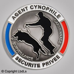 Médaille AGENT CYNOPHILE