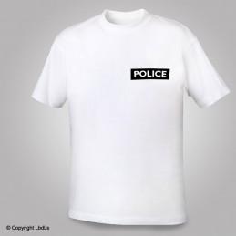 Tee shirt siglé POLICE rectangle
