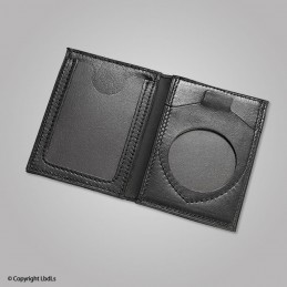 Porte carte LBDLS ouverture horizontale emplacement médaille + Navigo