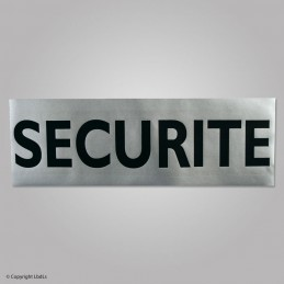 Bandeau SECURITE 30 x 10 cm rétro velcro  BANDEAUX, ÉCUSONS ET PATCH à 9,50€