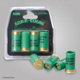 Carte de 4 Gomm Cogne chevrotines cal. 12/50   à 11,00€
