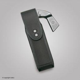 Porte bombe magnum ø 55 mm avec rabat avec clip ceinture   à 25,50€