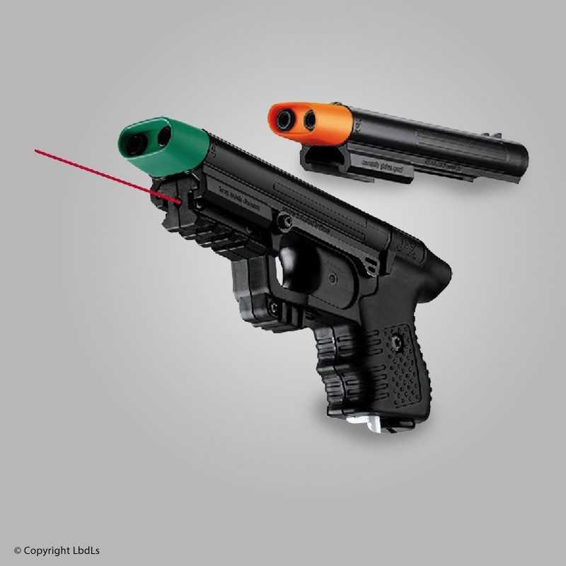 pistolet anti agression avec laser. Black Bedroom Furniture Sets. Home Design Ideas