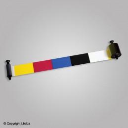 Ruban couleur (R3011) 5 panneaux pour New Pebble 200 cartes