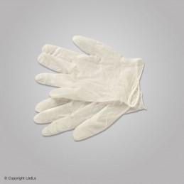 Paire de gants vinyle  PREMIERS SECOURS à 0,10€