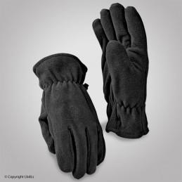 Gants polaire noir