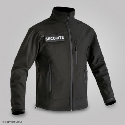 Softshell SECU-ONE flaps SECURITE amovibles