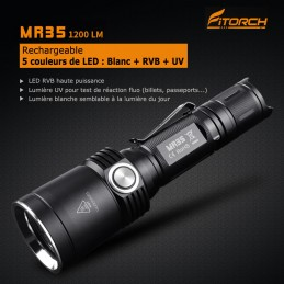 Lampe FITORCH MR35 1200 Lumens