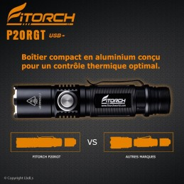 Lampe FITORCH P20RGT 1180 Lumens