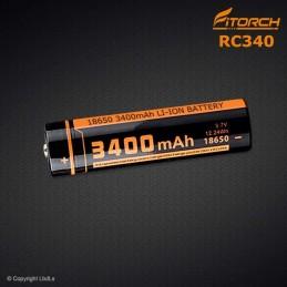 Batterie FITORCH 18650 RC340 - 3400 mAh FITORCH CATÉGORIES à 13,20€