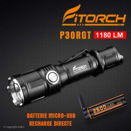 Lampe FITORCH P30RGT - 1180 LM FITORCH CATÉGORIES à 75,95€